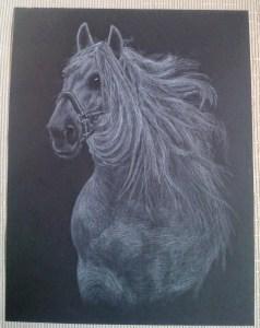 10 Nuevos dibujos con lápiz blanco (5)