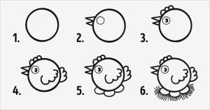 11 dibujos a lapiz faciles para niños (3)
