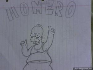 10 dibujos a lápiz de los simpson (1)