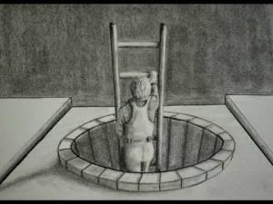 10 interesantes dibujos a lápiz en tercera dimensión (7)