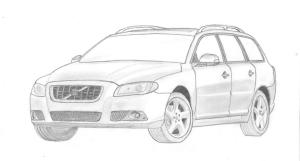 11 Dibujos a lapiz de autos (2)