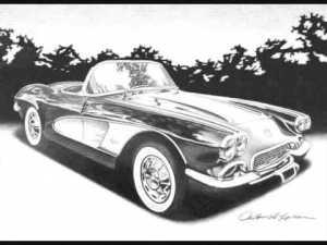 11 Dibujos a lapiz de autos (7)