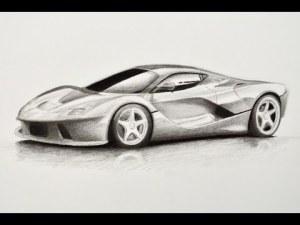 11 Dibujos a lapiz de autos (8)