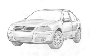 11 Dibujos a lapiz de autos (9)