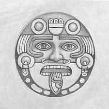10  dibujos a lápiz aztecas (4)