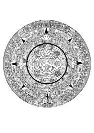 10  dibujos a lápiz aztecas (8)