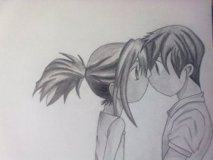 10 dibujos a lápiz de amor (8)