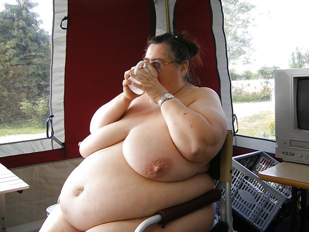 granny flashing tits