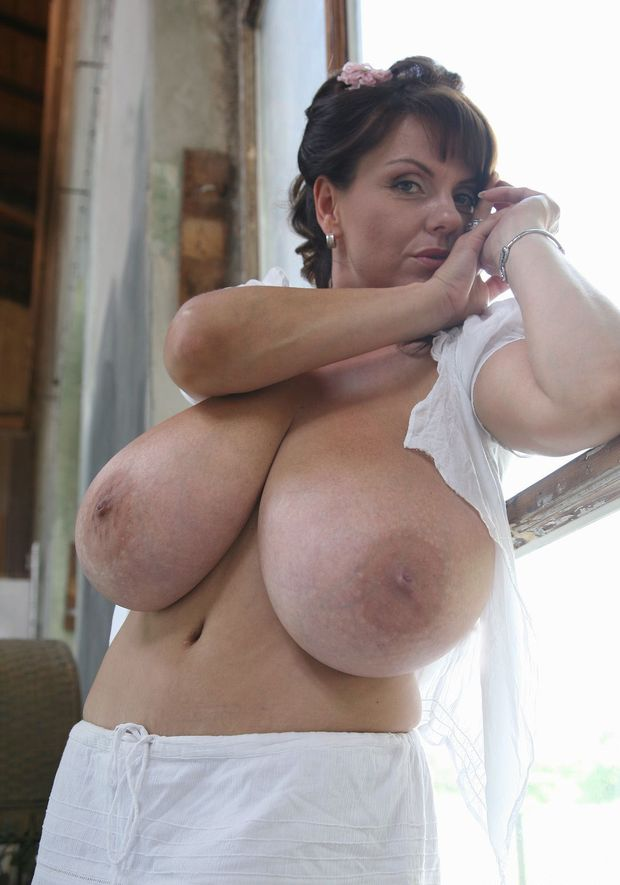 huge mature tits homemade