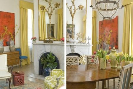 melissa rufty mmr interiors dining room malachite new orleans via dicorcia interior design1