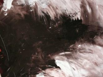 "die artige / ""Abgrund"", 120cm x 160cm, Acryl auf Leinwand"