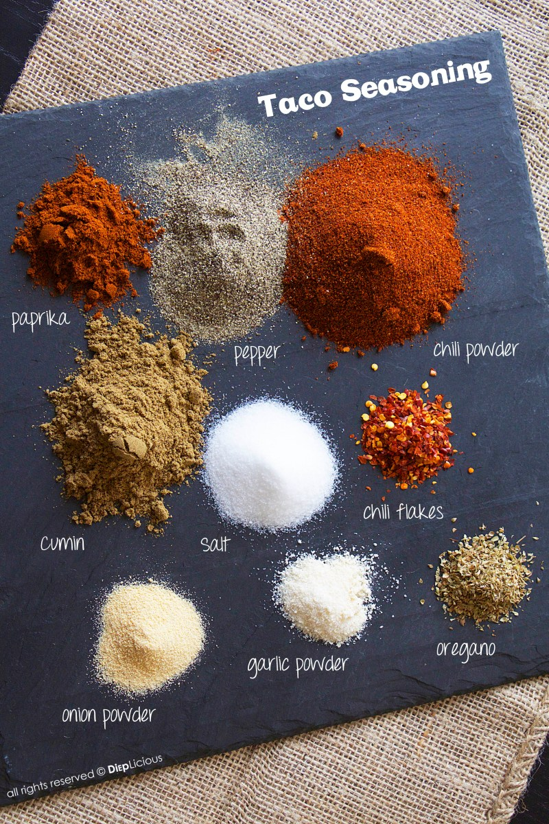 NATURAL HOMEMADE  TACO SEASONING