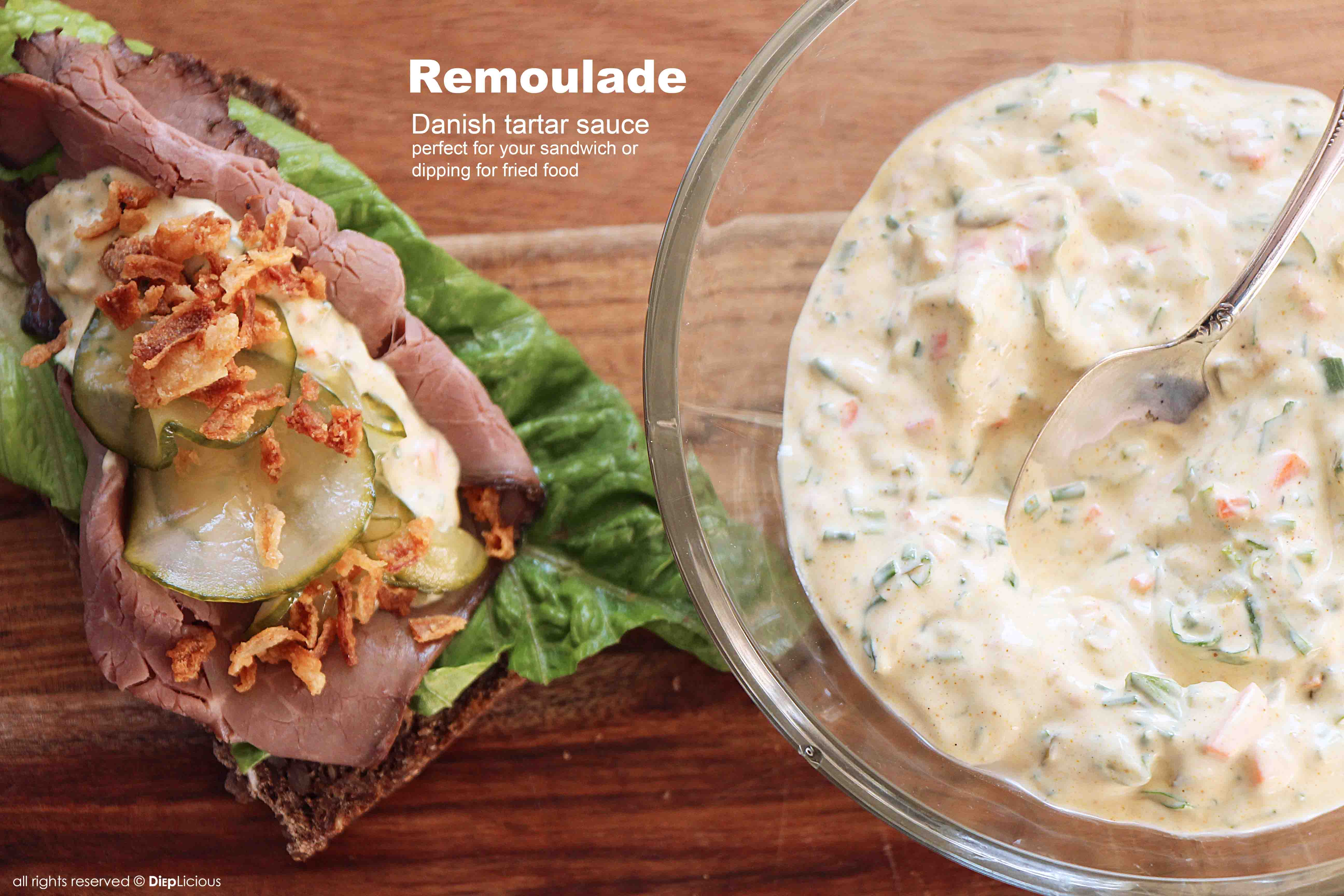 with spicy remoulade po boy with remoulade pan seared salmon with ...