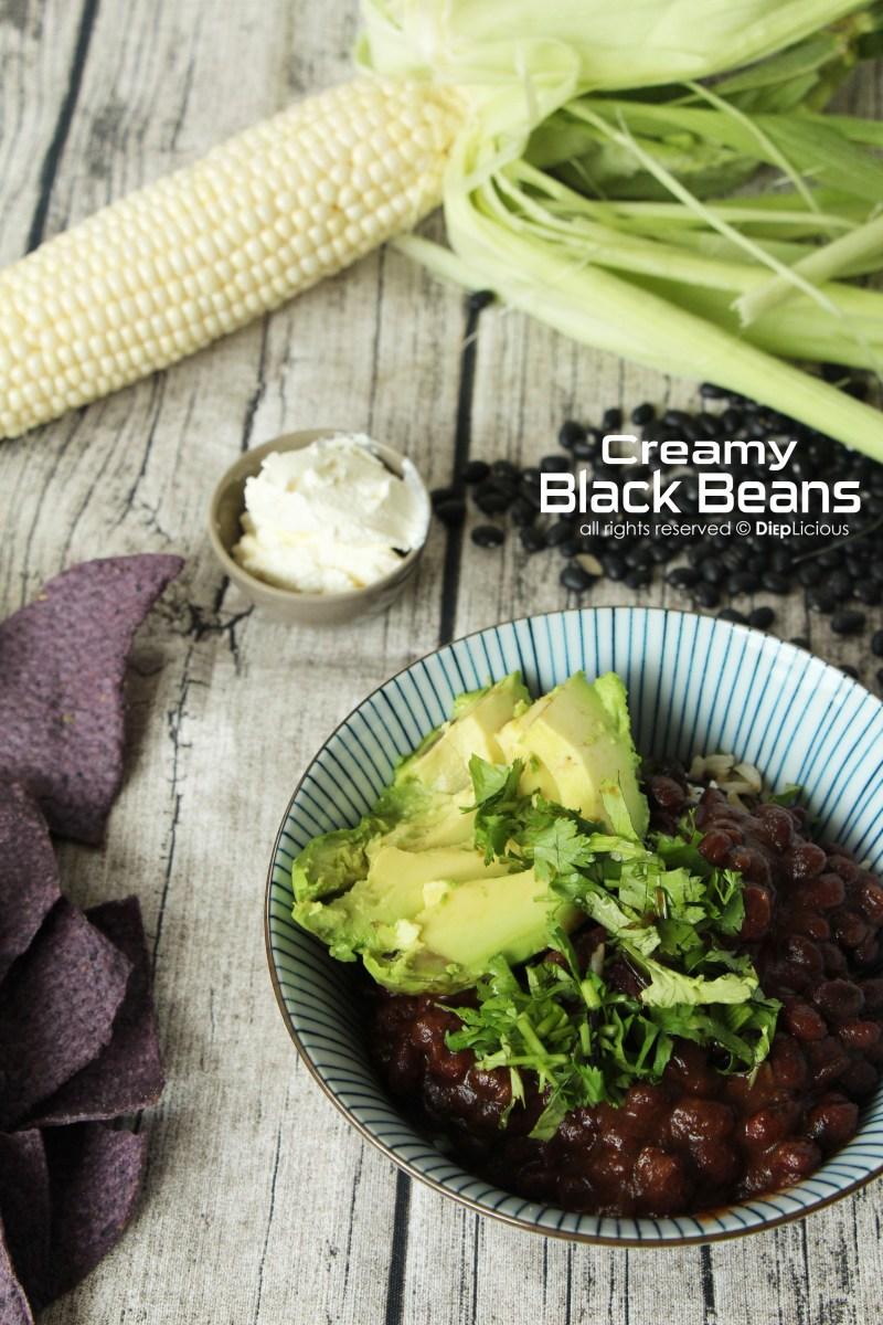 CREAMY BLACK BEANS