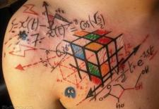 Awesome geek tatttoo.