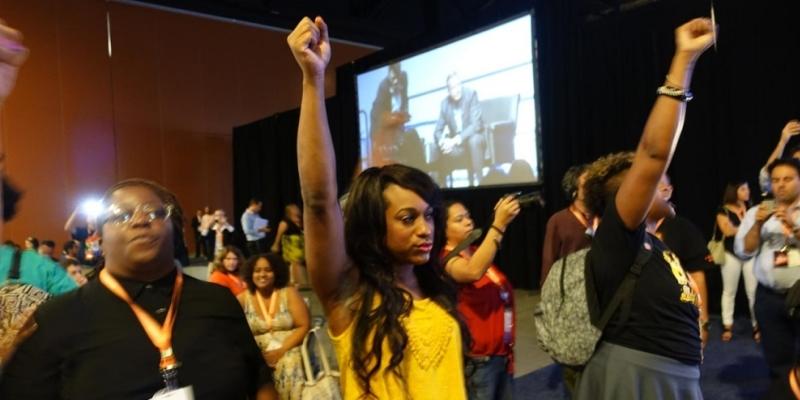 Black Lives Matter vs. Bernie Sanders