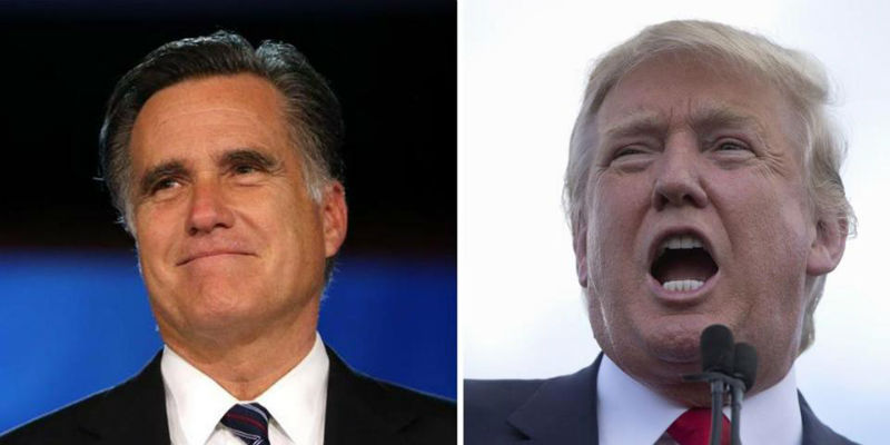 Romney and Trump: Saying What Needs to Be Said