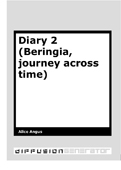 Diary 2 (Beringia, journey across time)