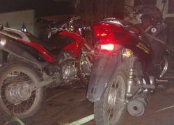 Brigada Militar recupera motos roubadas em Bento