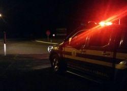 Motorista é detido por posse de entorpecentes na BR-470 em Bento