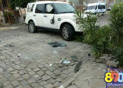 Moradores do Progresso em Bento relatam preocupação com acidentes em cruzamento