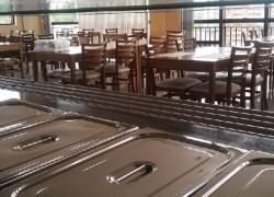 Restaurante do Sesc atende cerca de 300 pessoas por dia em Bento