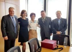 Presidente do BNDES recebe Comitiva da FIMMA Brasil 2017