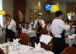 Novas regras da gorjeta desoneram bares e restaurante