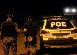 POE prende jovem em Cotiporã por embriaguez e porte de entorpecente