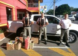 Policiais do 3º Batalhão Rodoviário da Brigada Militar doam para São Francisco de Paula