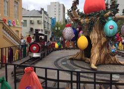 Bento em Páscoa oferece trenzinho da Maria Fumaça para as crianças
