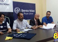 Impasse jurídico interrompe o projeto Sacada Solidária do Bento Vôlei