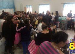 Doações da Campanha do Agasalho são efetuadas nos Eucaliptos em Bento