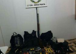 Brigada Militar frustra tentativa de furto arrombamento nos Correios de Nova Prata