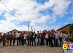 Nos 35 anos de emancipação, pavimentações de ruas são inauguradas em Cotiporã