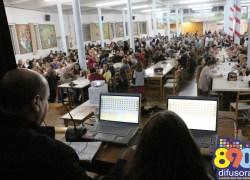 Bingo da Festa de São Roque e São Gotardo reúne comunidade em Bento