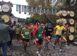 Dia do Vinho: Maratona Wine Run reúne 1,2 mil corredores no Vale dos Vinhedos