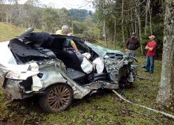 Grave acidente de trânsito na ERS-431 em São Valentim do Sul