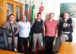 Santa Tereza recebe efetivo da Brigada Militar
