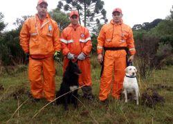 Canil de Bento auxilia na busca de idoso desaparecido em Caxias