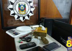 Polícia Civil prende foragido e detém traficantes em Bento