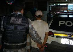 Foragido é preso pelo POE no Municipal