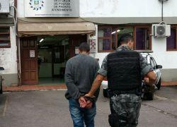 Homem preso por furto de veículo em Bento
