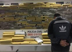Polícia descobre depósito de drogas com 300kg de maconha no Vale dos Sinos