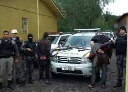 Cerco policial encerra com mais dois presos em Campestre da Serra