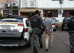 Brigada prende assaltante foragido em Bento