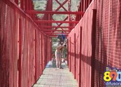 Prefeitura de Santa Tereza realiza pintura de estruturas do município