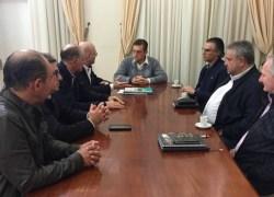 Comitiva do Sindmóveis cumpre agenda na Prefeitura de Bento