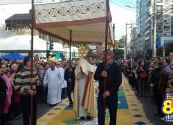 Dia é de homenagens a Corpus Christi em Bento