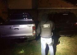 Polícia Civil recupera em Sapucaia do Sul duas caminhonetes roubadas na serra